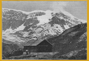 vergrössern: Klubhütte Chanrion.